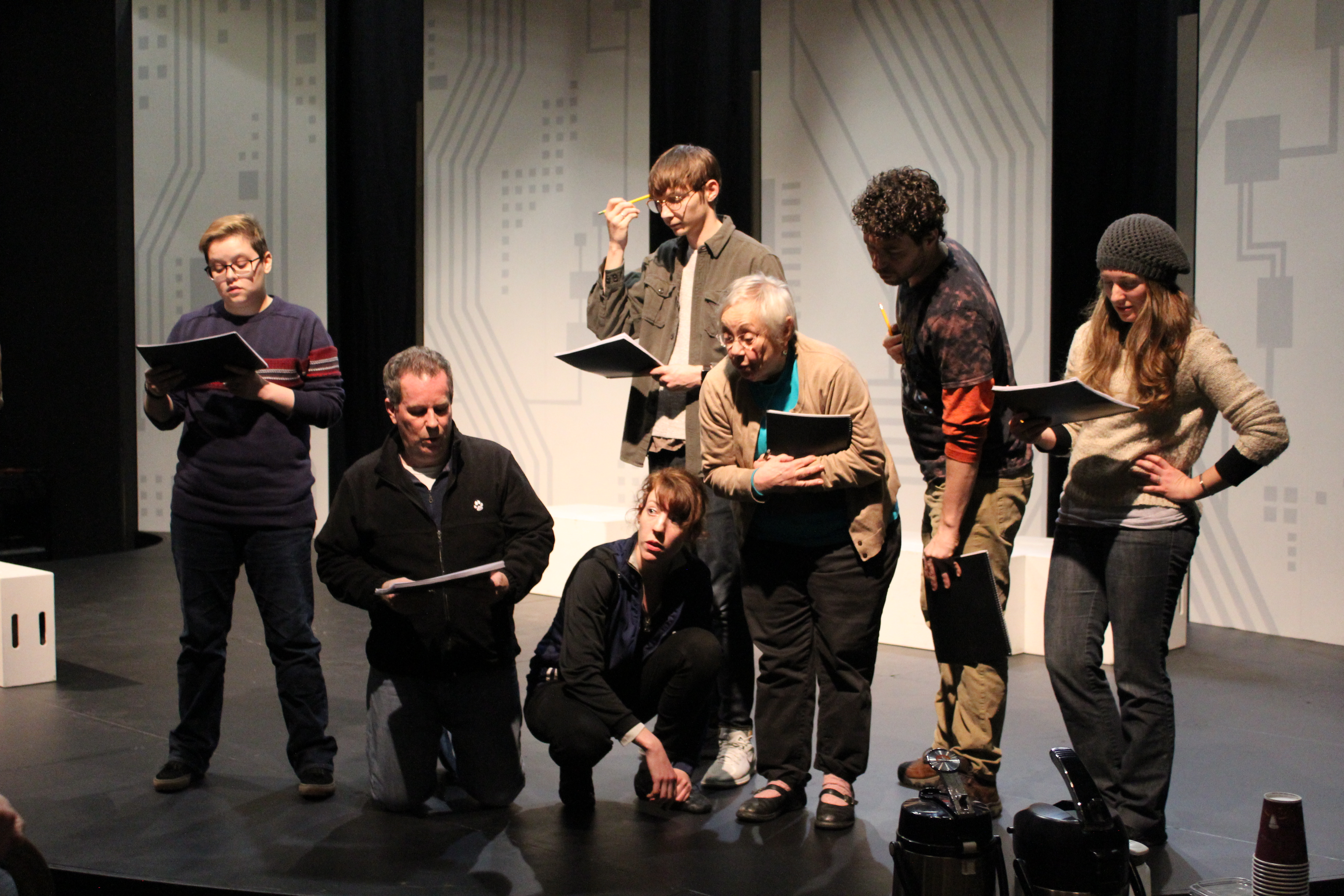 Love and Information Rehearsal Photos - Harlequin
